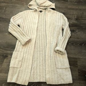 Express thick coat cardigan